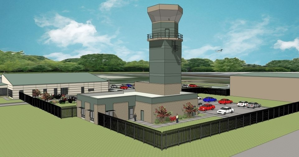 Ardmore Airport Control Tower Upgrades