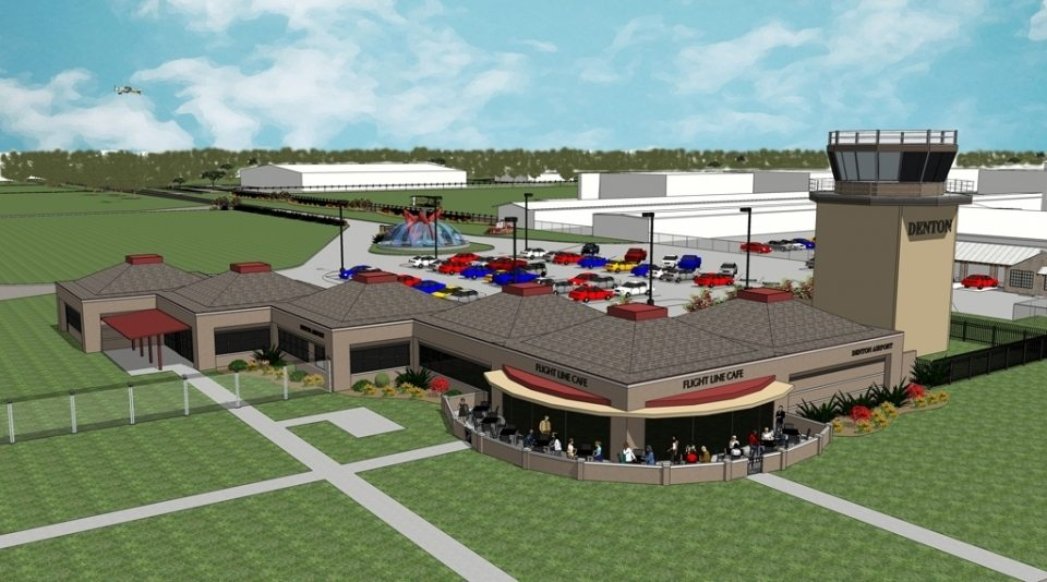 Denton Airport Restaurant Rendering